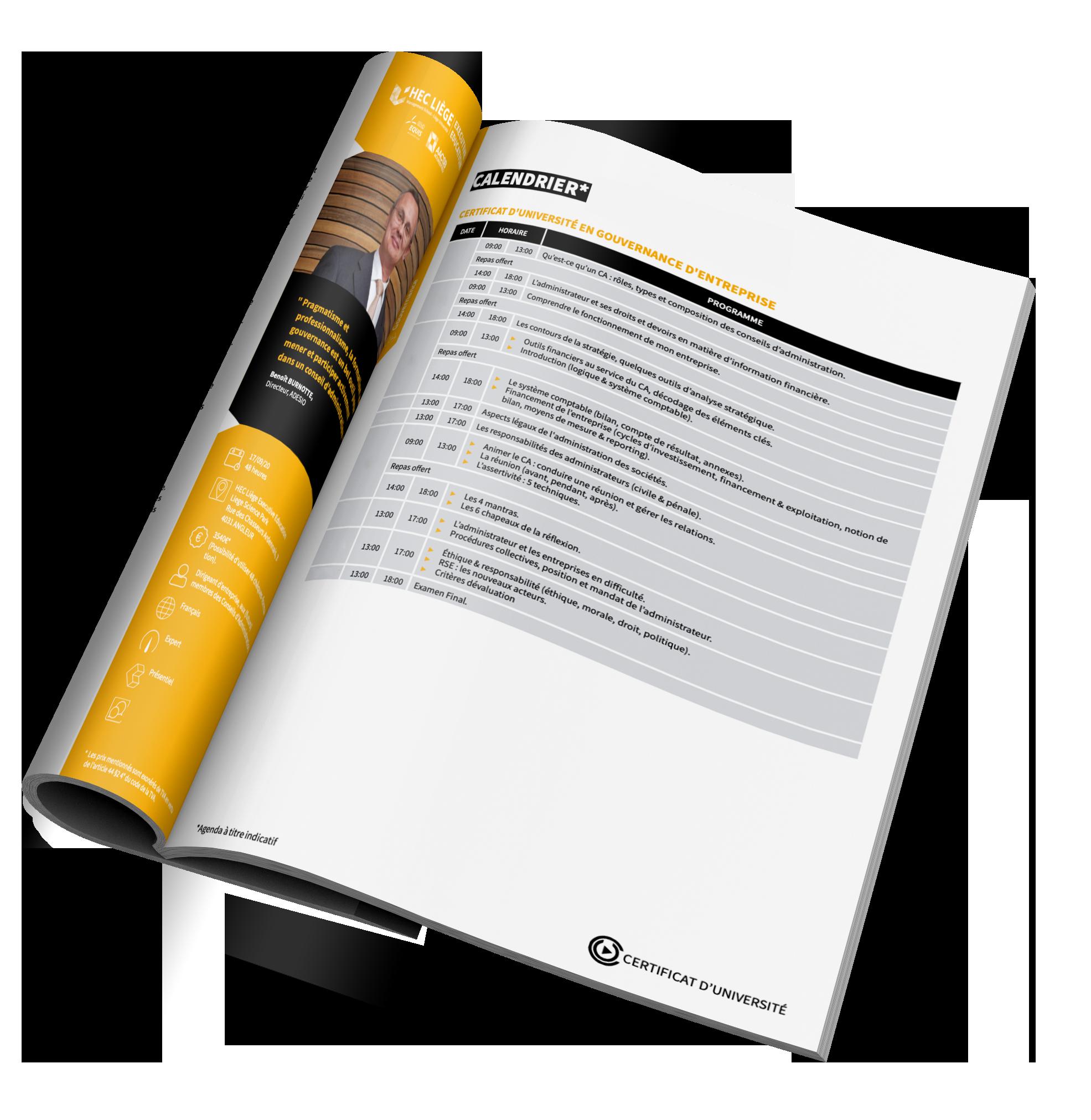 Catalogue gouvernance
