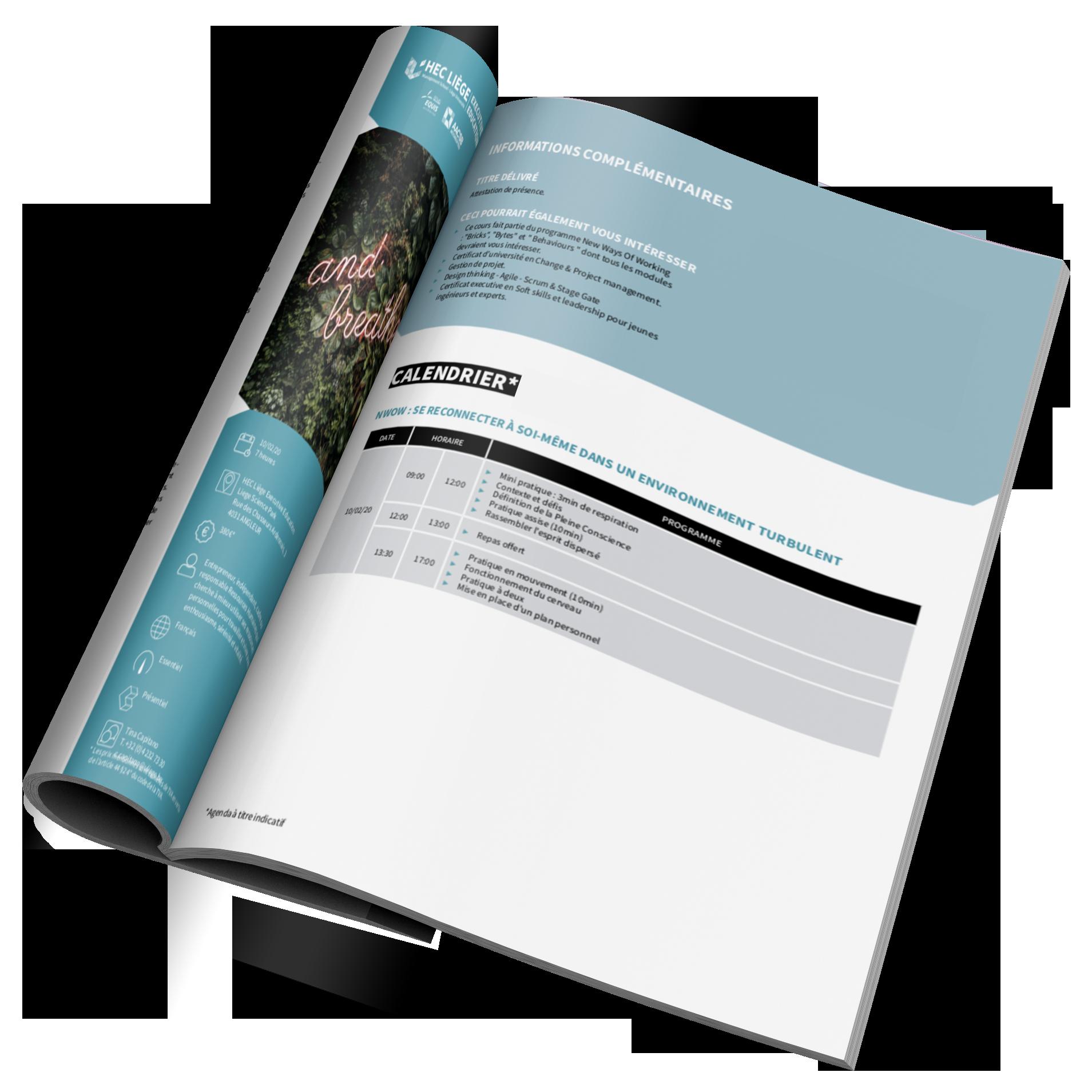 Catalogue digital transformation innovation and change